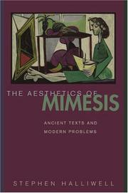 Cover of: The Aesthetics of Mimesis