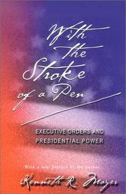 Cover of: With the Stroke of a Pen