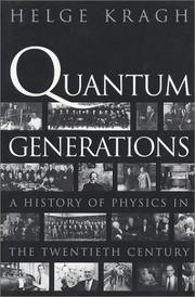 Cover of: Quantum Generations | Helge Kragh