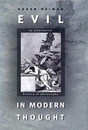 Cover of: Evil in Modern Thought | Susan Neiman
