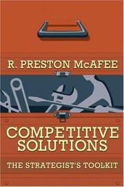Cover of: Competitive Solutions