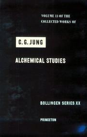 Cover of: Alchemical Studies | Carl Gustav Jung