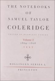 Cover of: The Notebooks of Samuel Taylor Coleridge, Volume 2  | Samuel Taylor Coleridge