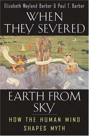 Cover of: When they severed earth from sky