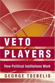 Cover of: Veto Players