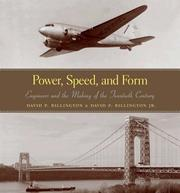 Cover of: Power, speed, and form | David P. Billington