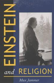 Cover of: Einstein and Religion