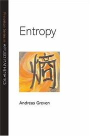Cover of: Entropy (Princeton Series in Applied Mathematics) |