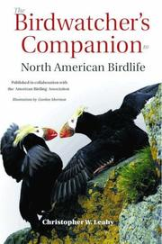 Cover of: The Birdwatcher's Companion to North American Birdlife
