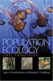 Population Ecology: First Principles