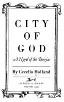Cover of: City of God: a novel of the Borgias