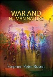 Cover of: War and Human Nature
