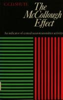 Cover of: The McCollough effect | Charles Cameron Donald Shute