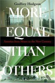 Cover of: More Equal Than Others