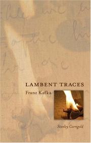 Cover of: Lambent Traces | Stanley Corngold
