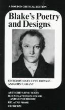 Cover of: Blake's poetry and designs