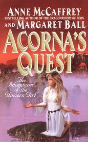 Cover of: Acorna's Quest (Acorna) by Anne McCaffrey