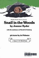 Cover of: Snail in the woods