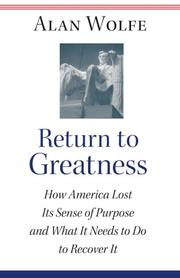 Return to Greatness by Alan Wolfe