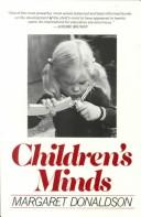 Cover of: Children's minds | Margaret C. Donaldson