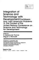Cover of: Integration of science and technology with development |
