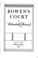 Cover of: Bowen's Court