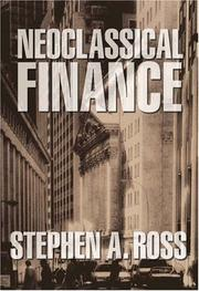 Cover of: Neoclassical finance