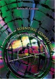 Cover of: A first course in scientific computing