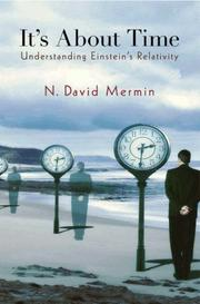 Cover of: It's about time | N. David Mermin
