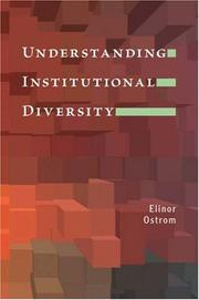 Cover of: Understanding institutional diversity