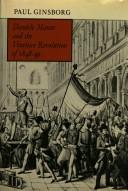 Cover of: Daniele Manin and the Venetian revolution of 1848-49