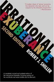 Cover of: Irrational Exuberance | Robert J. Shiller