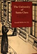 Cover of: The University of Santa Clara | Gerald McKevitt