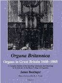 Cover of: Organa britannica | James Boeringer