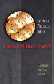Cover of: How China grows