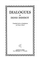 Cover of: Dialogues: Translated with an introd. by Francis Birrell.