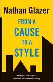 Cover of: From a Cause to a Style