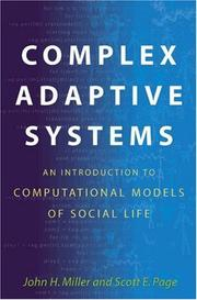 Cover of: Complex Adaptive Systems | John H. Miller