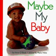 Cover of: Maybe my baby
