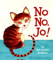 Cover of: No No, Jo!