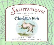 Cover of: Salutations!: wit and wisdom from Charlotte's web