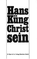 Cover of: Christ sein