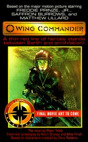 Cover of: Wing Commander | Kevin Droney