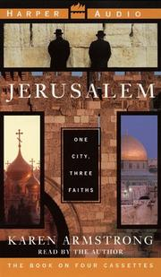 Cover of: Jerusalem:One City,Three Faiths