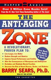 Cover of: Anti-Aging Zone, The