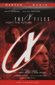 Cover of: The X-Files | Chris Carter
