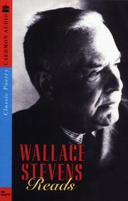 Cover of: Wallace Stevens Reads