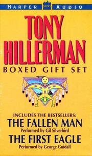 Cover of: Tony Hillerman Boxed Gift Set: The Fallen Man, The First Eagle