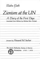 Cover of: Zionism at the UN