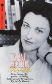 Cover of: Anne Sexton Reads